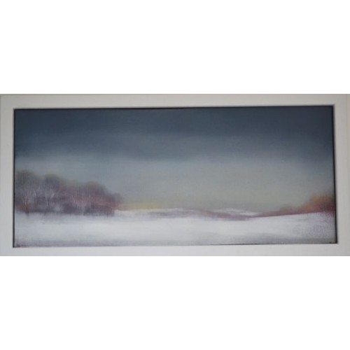 Framed size: 15.5 x 32.5cm