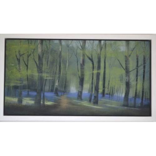 Framed size: 18 x 33cm
