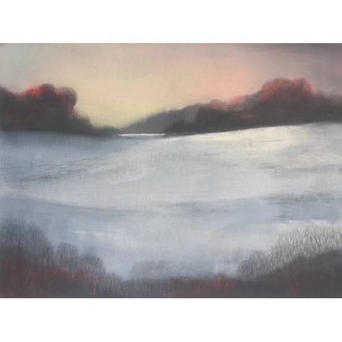 Winter Sunrise, oil  on board, 18 x 24cm