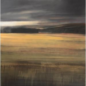 Cotswold, oil on canvas, 100 x 100cm