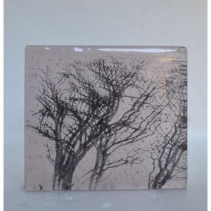 Winter Branches, rose, mini cast, 8x9cm