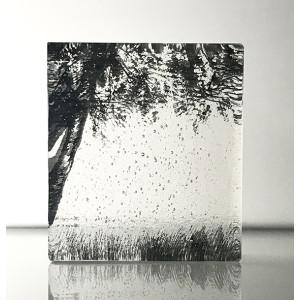 Forest Edge, Black & clear, mini cast 9x8cm