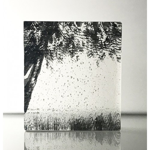Forest Edge, Black & clear, mini cast 9x8cm