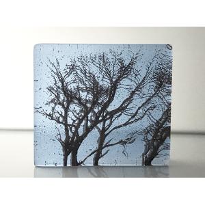 Winter Branches, neo lavender shift and sepia, mini cast, 8x9cm