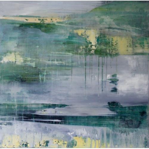 Green Misty Landscape 1