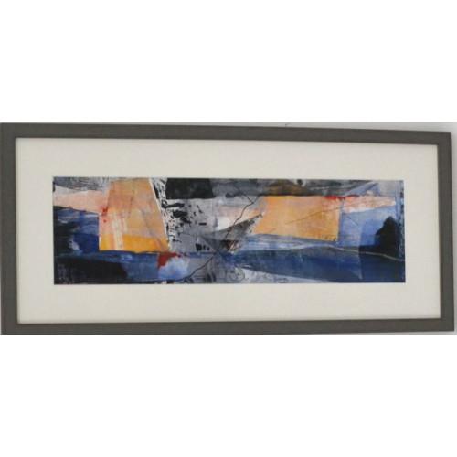 Framed size: 28 x 63 x 1.5cm