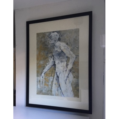 Sold unframed but mounted size: 107 x 78cm