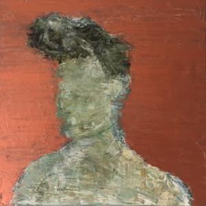 Bronze Portrait, oil on canvas, 60 x 60cm