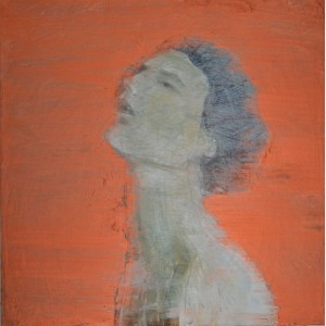 Bronze Woman, oil on canvas, 60 x 60cm