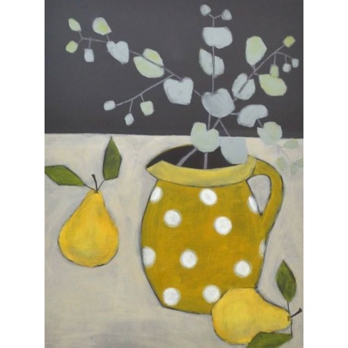 Spotty Jug and Pears