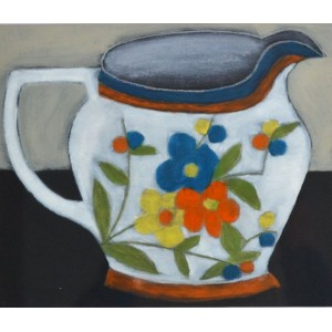 Favourite Jug, oil on card, 18 x 21cm