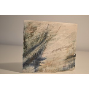 ceramic stoneware slab, small