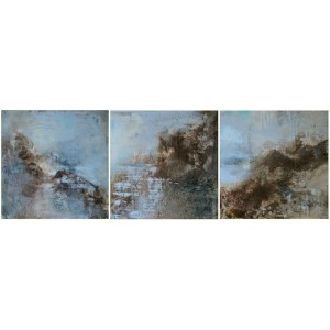 Coast Walk, triptych