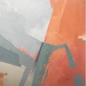 Overtone, acrylic on canvas, 60 x 60cm