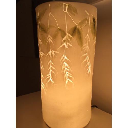 Santolina, porcelain lamp, H:36cm