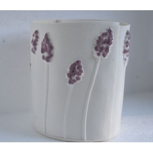 Hyacinth, porcelain candle burner, H:10cm