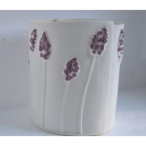 Hyacinth, porcelain candle burner, H:10cm