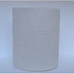 Horse Chestnut, porcelain candle burner, H:11cm