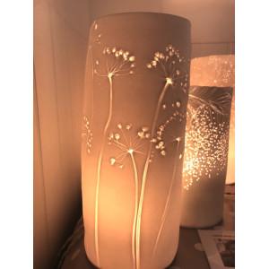 Allium, porcelain lamp