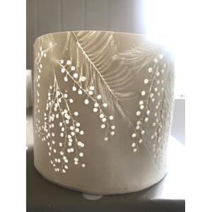 Mimosa, porcelain 4 burner, H: approx 14cm