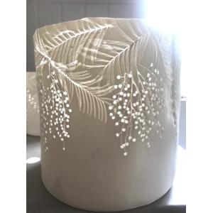 Mimosa, porcelain 5 burner, H: approx 18cm