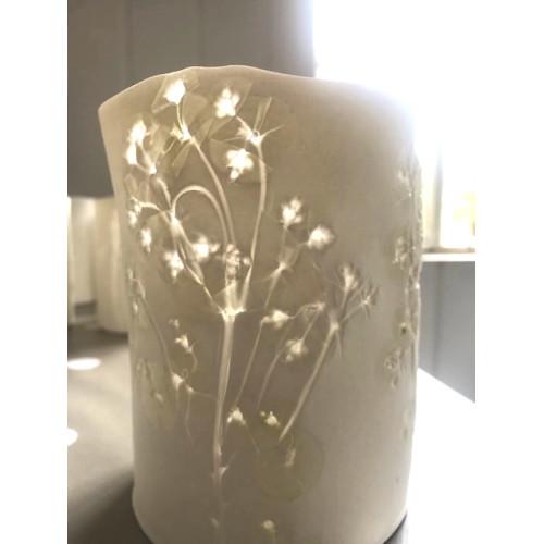 Euphorbia, medium candle burner, H: approx 12cm
