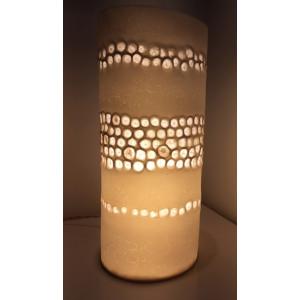 Sycamore, porcelain lamp, H:38cm