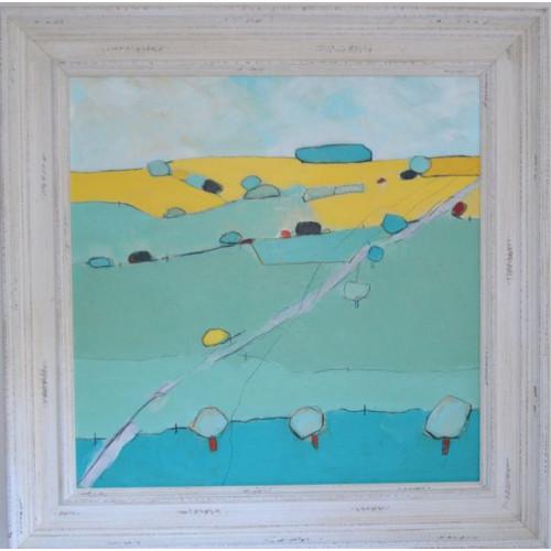 Framed size: 66 x 66cm