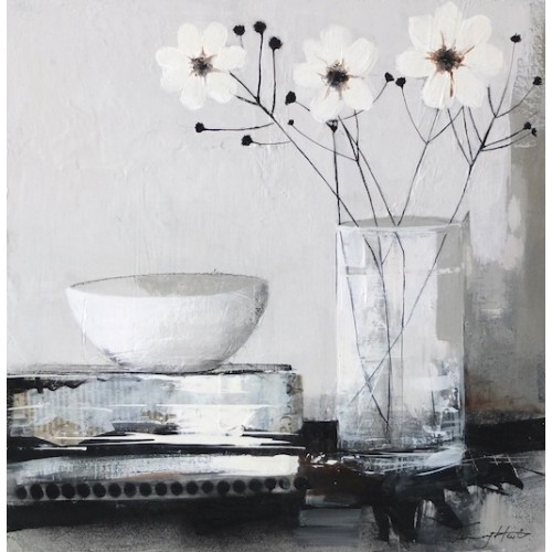 Still Life with Japanese Anemones