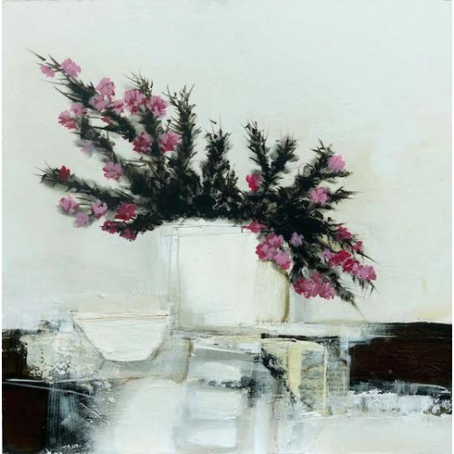 Still Life with Pink Heather