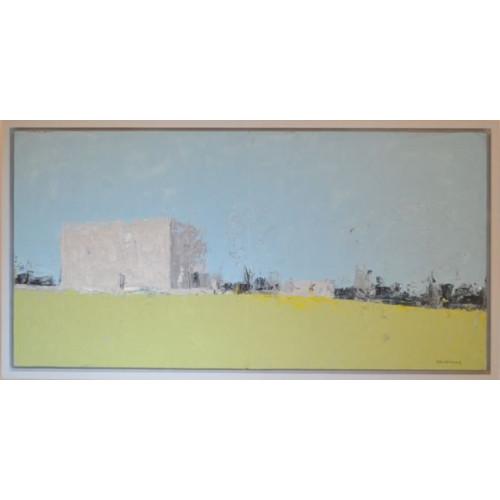 Framed size: 33 x 63cm