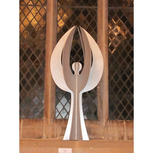 Angel, Maquette, steel, zinc spray paint, 0.75m high edition of 8