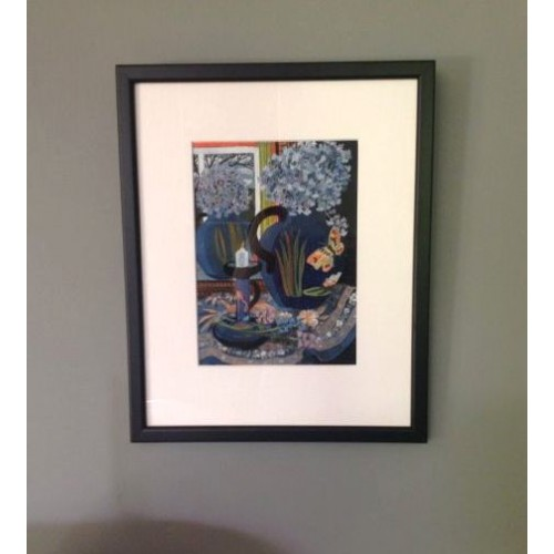 framed and glazed