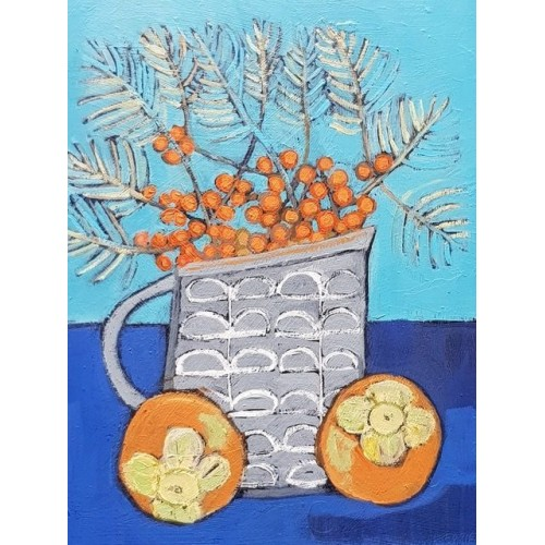 Persimmons and Sea Buckthorn