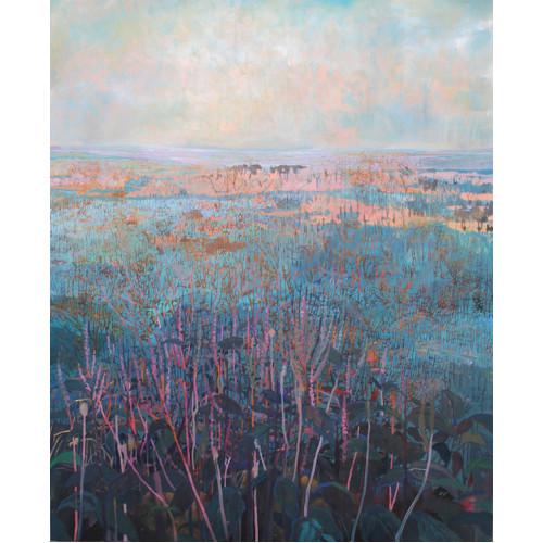Bitter Dock, oil on canvas, 120x100cm