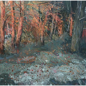 Sundown, oil on canvas, 60 x 60cm