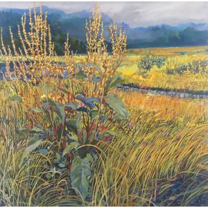 Soft Ground, oil on canvas, 50x50cm