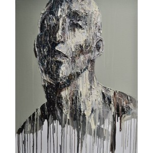 Erasmos, oil on canvas, 76.2 x 60.9cm