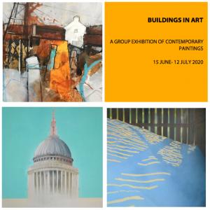 """Online Exhibition, """"Buildings in Art"""", 15 June - 12 July"""