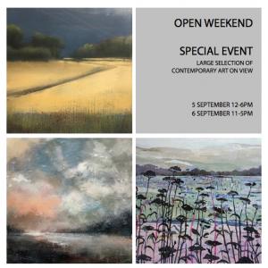 Open Weekend, Sevenhampton, 5-6 September 2020