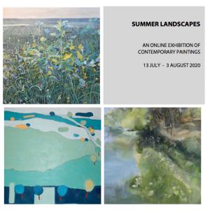 Online exhibition 'Summer Landscapes', 13 July - 3 August