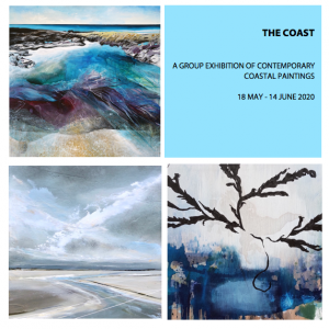 Online Exhibition - The Coast,  celebrating coastlines and estuaries, 18 May - 14 June 2020